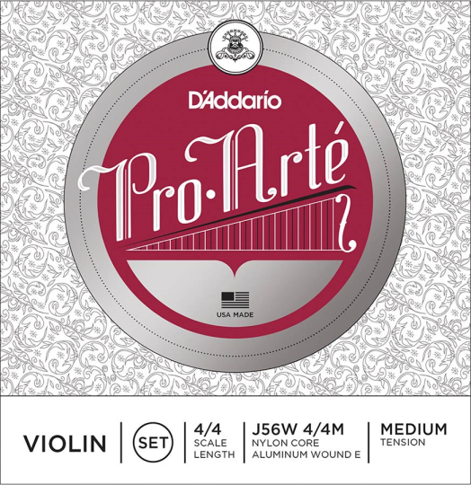 D´ADDARIO ProArté Violinsaiten SATZ mit E-Kugel, medium