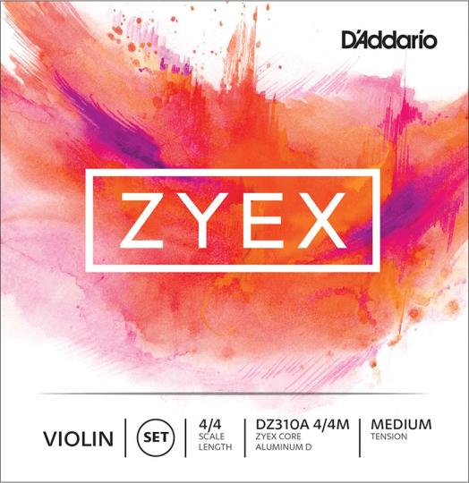 D´ADDARIO Zyex Violinsaiten SATZ mit D Alu