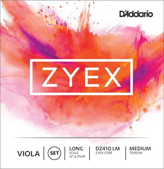 D´ADDARIO Zyex Violasaiten SATZ, medium