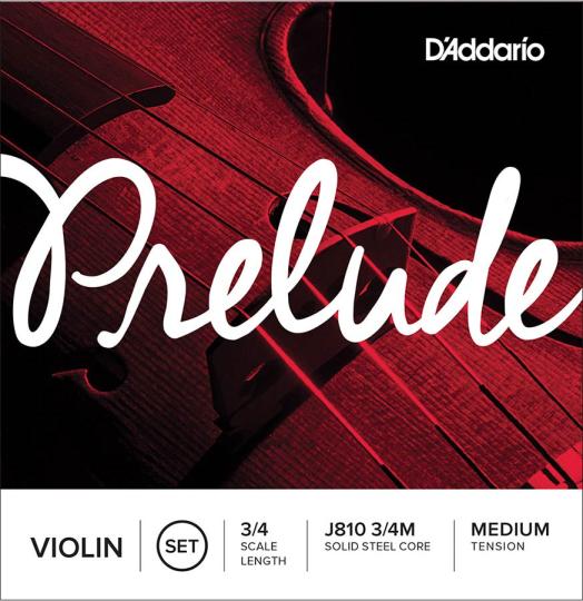 D´ Addario Preulde Violinesaiten SATZ mit E-Kugel, medium