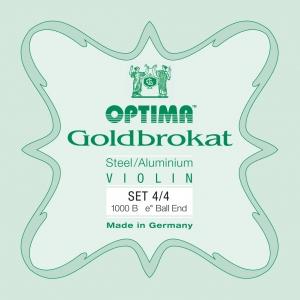 Optima Goldbrokat Satz Violinsaiten 4/4