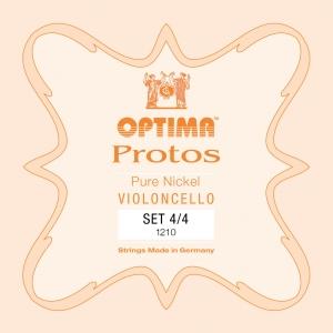 OPTIMA Protos Cellosaiten SATZ 3/4, mittel