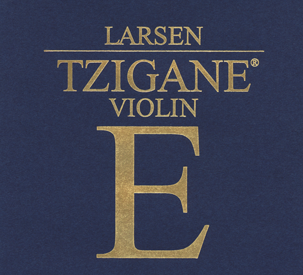 LARSEN Tzigane Violinsaite E mit Kugel, medium