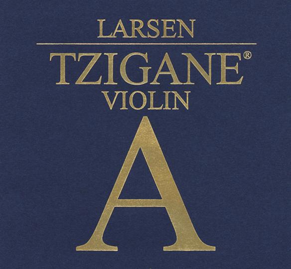 LARSEN Tzigane Violinsaite A Alu, medium