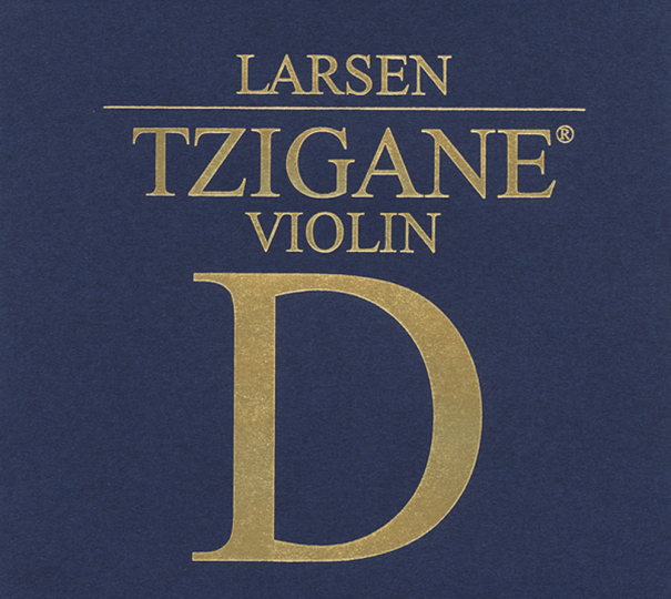 LARSEN Tzigane Violinsaite D Silber, medium