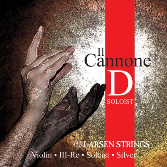 LARSEN Il Cannone Soloist Violinsaite D, medium