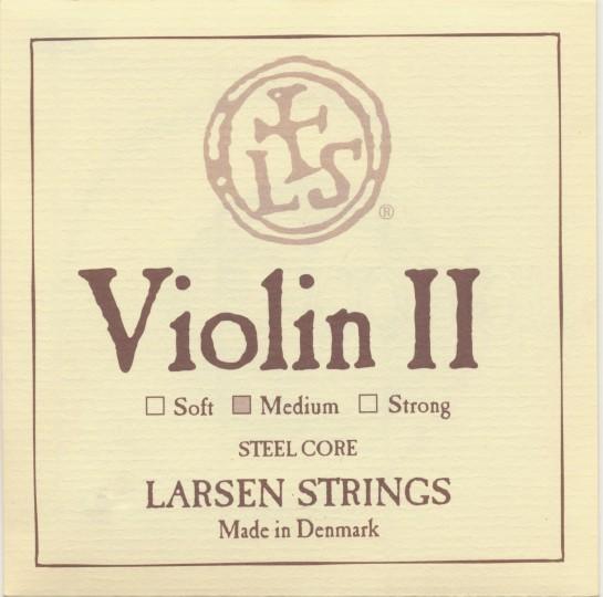 LARSEN Violinsaite A Stahl, medium