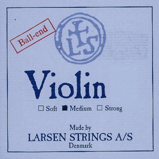 LARSEN Violinsaite E mit Kugel