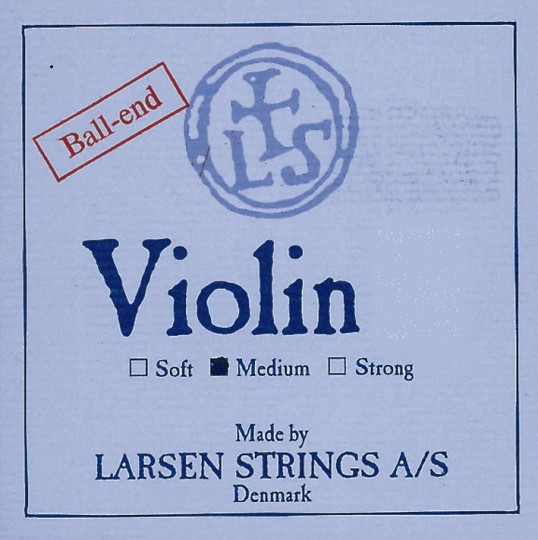 LARSEN Violinsaiten SATZ mit E-Schlinge