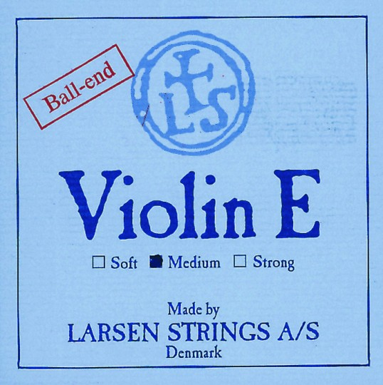 LARSEN Violinsaite E mit Schlinge