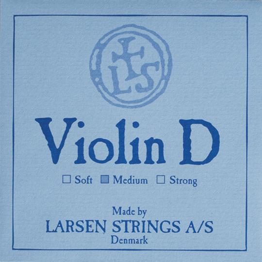 LARSEN Violinsaite D Silber
