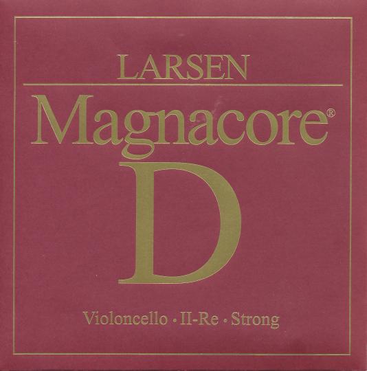 Larsen Cello Magnacore D-Saite, stark