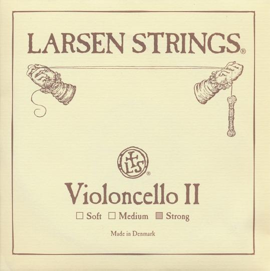 LARSEN Cello D-Saite, strong