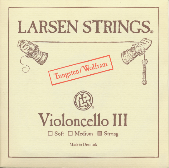 LARSEN Cello G-Saite, strong