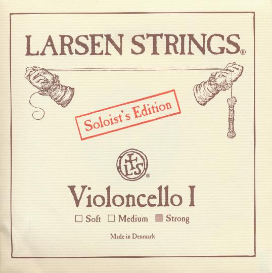 LARSEN Cello Soloist A-Saite, strong