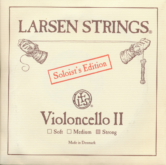 LARSEN Cello Soloist D-Saite, strong