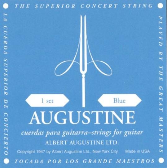 AUGUSTINE Blue Label Gitarresaiten SATZ, high tension