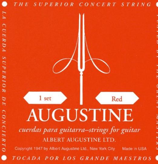 AUGUSTINE Red Label Gitarresaiten SATZ, medium tension