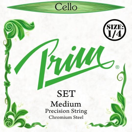 PRIM Precision Cellosaiten SATZ 1/4, medium