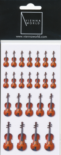 Sticker Geige