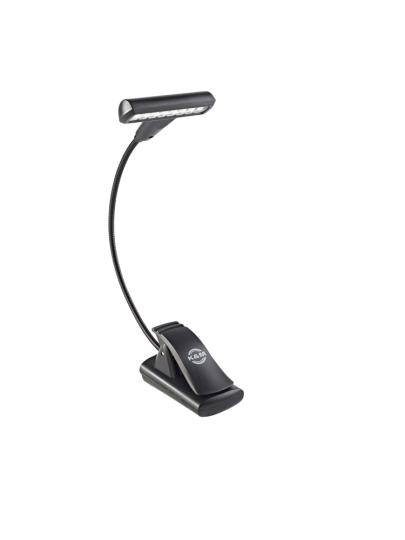 K & M Notenpultleuchte »T-Model LED FlexLight« - schwarz