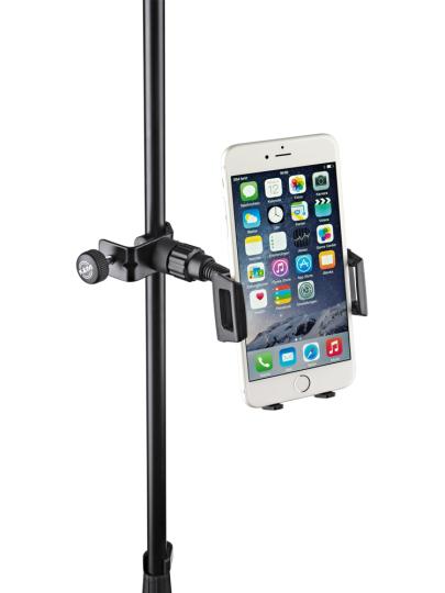 K & M Smartphone-Halter - schwarz