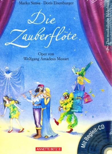 Die Zauberflöte, Bilderbuch mit CD