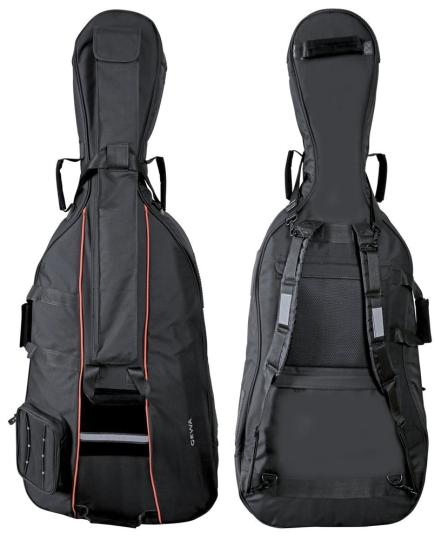 GEWA Premium Cellohülle, schwarz 3/4