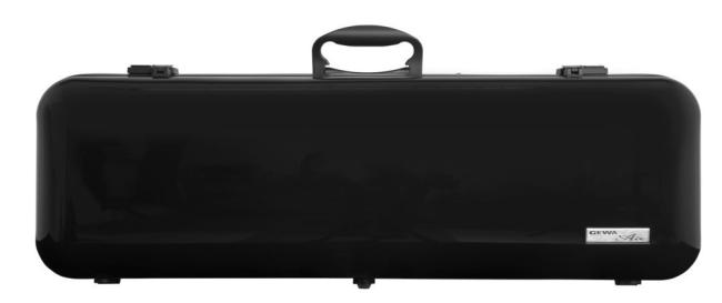 GEWA Violinkoffer Air 2.1, hochglanz