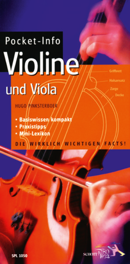 Pocket -Info Violine & Viola