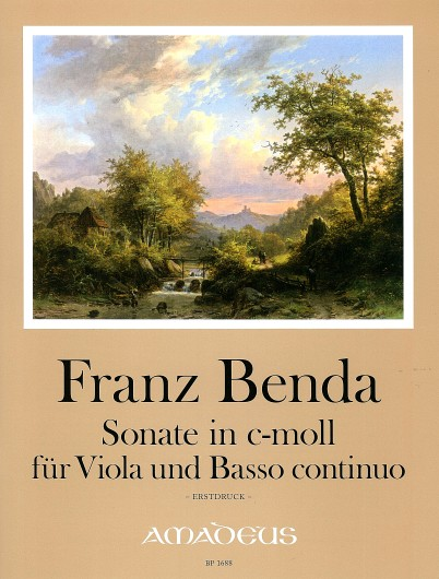 Benda, Sonate in c-moll