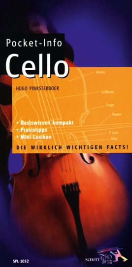 Buch: Poket Info Cello