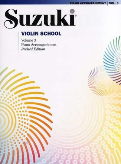 Suzuki Violin Schule Klavierbegleitung Band 3