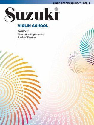 Suzuki Violin Schule Klavierbegleitung Band 7