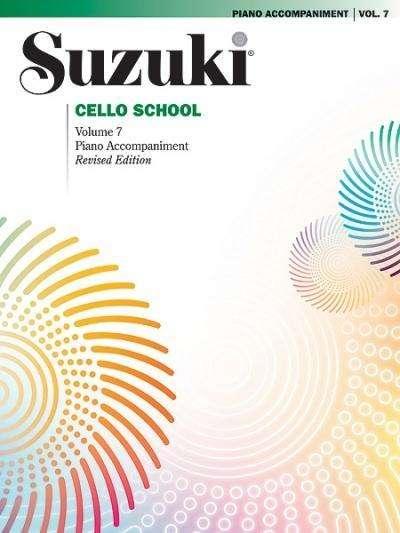 Suzuki Cello Schule Klavierbegleitung Band 7