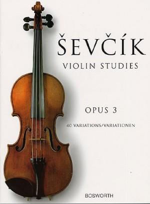 Sevcik, Violin Studies Opus 3 - 40 Variations