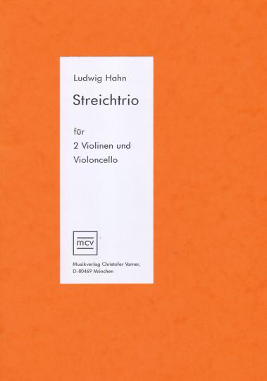 Ludwig Hahn, Streichtrio