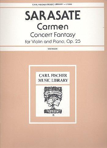 Sarasate, Carmen Fantasy, Op. 25