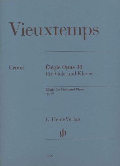 Vieuxtemps, Élégie Opus 30