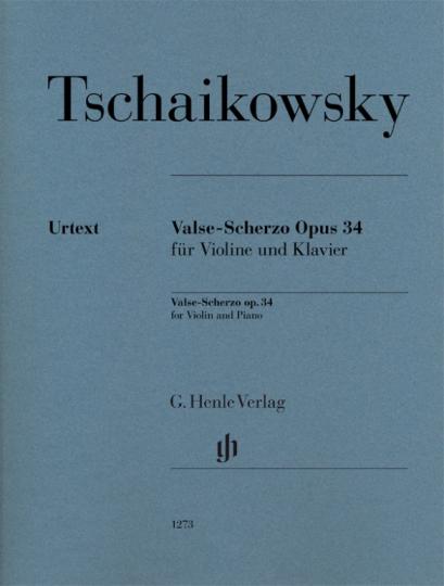 Tschaikowsky, Valse-Scherzo Opus 34
