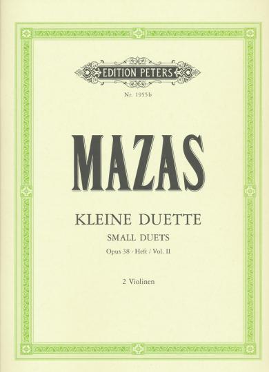 Mazas Kleine Duette, Opus 38, Vol. II