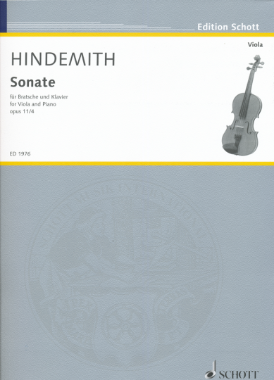 Hindemith, Sonate Opus 11/4