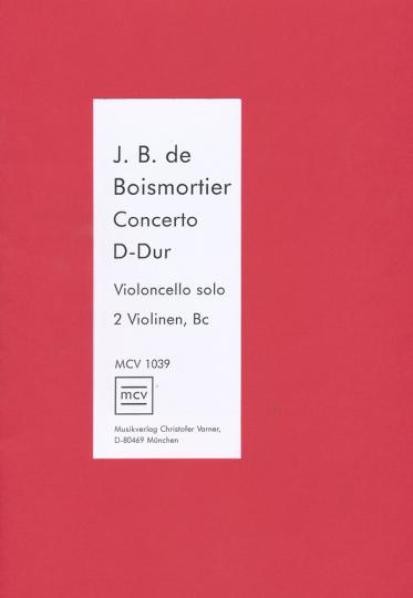 Joseph Bodin de Boismortier, Concerto D-Dur