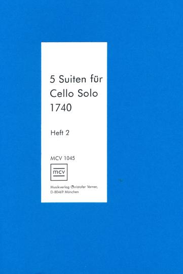 Cello Solo 1740, Heft 2