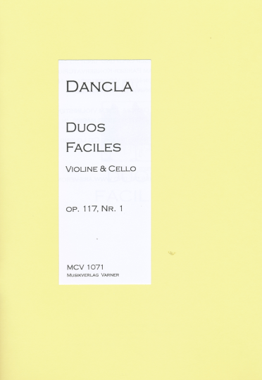 Charles Dancla, Duo Faciles op.117 Nr. 1