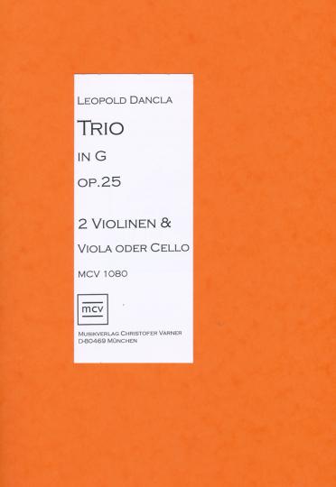 Leopold Dancla, Trio in G op. 25