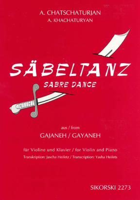 "Chatschaturjan, Säbeltanz aus dem Ballett ""Gajaneh"""