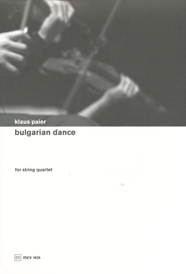 Klaus Paier, Bulgarian dance