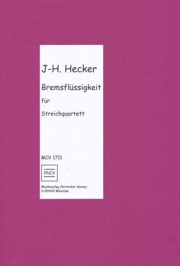 Jost-H. Hecker, Bremsflüssigkeit