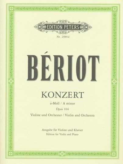 Bériot, Konzert a-Moll, Opus 104